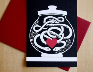 Forever Entwined - Flat notecard