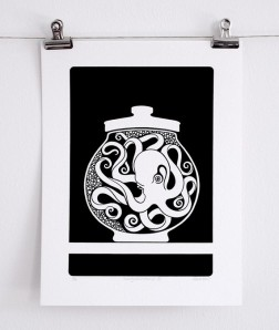Curiosity Cabinet Series 1, No. 6 - Limited Edition Screenprint
